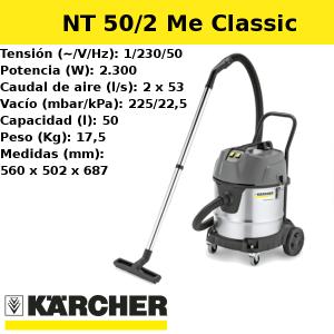 Aspirador Karcher NT 50/2 Me Classic