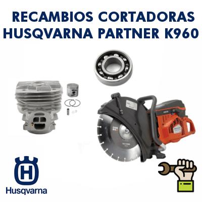 Recambios para cortadoras Partner Husqvarna K960