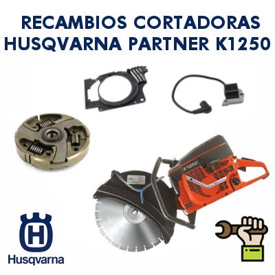 Recambios para cortadoras Partner Husqvarna K1250