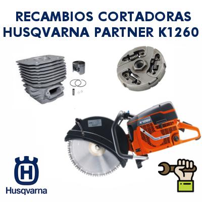 Recambios para cortadoras Partner Husqvarna K1260