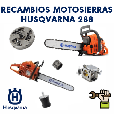 Recambios para motosierras Husqvarna 288
