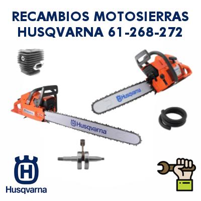 Recambios para motosierras Husqvarna 61-268-272