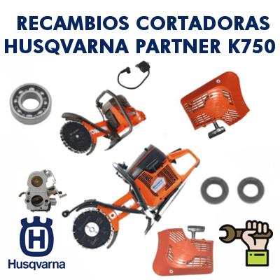Recambios para cortadoras Partner Husqvarna K750