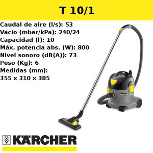 Aspirador Karcher T 10/1