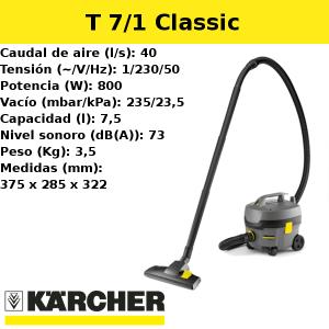 Aspirador Karcher T 7/1 Classic