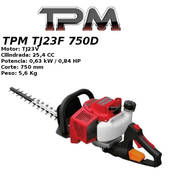 Cortasetos TPM TJ23F 750D