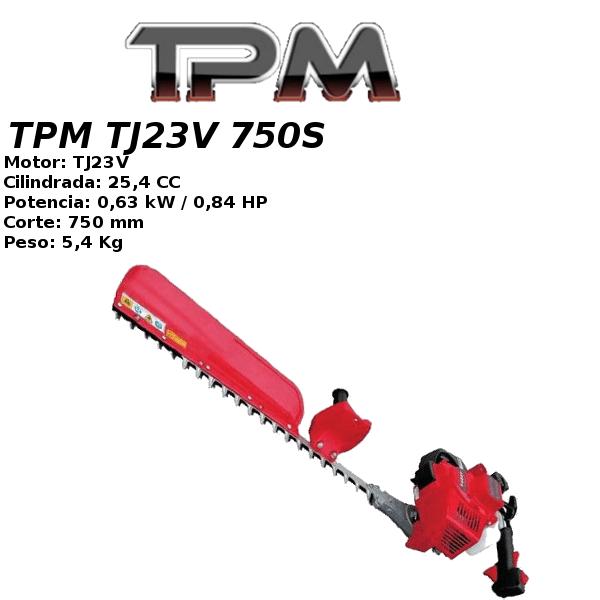 Cortasetos TPM TJ23V 750S