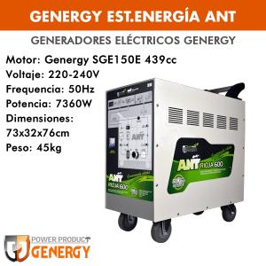 Generador eléctrico (estación energía) Genergy ANT
