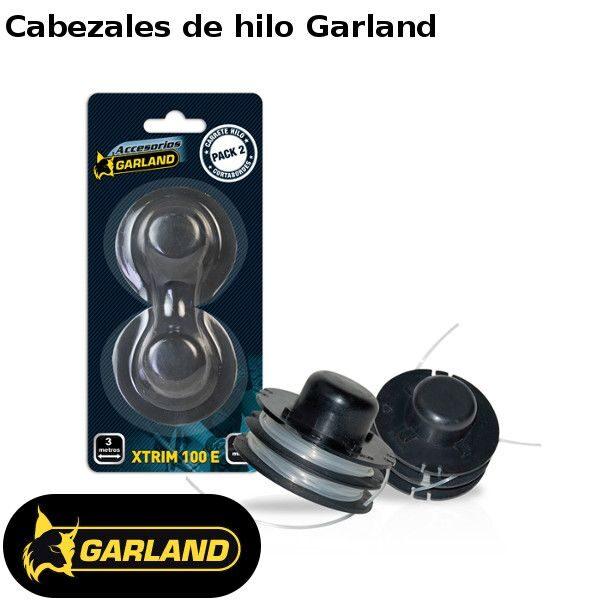 Cabezales de hilo Garland para desbrozadoras