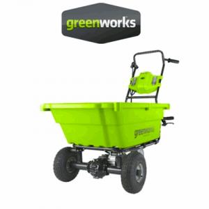 Carretillas Oruga Greenworks Bateria