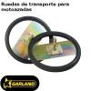 ruedas de transporte Garland para motoazadas