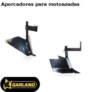 Aporcadores Garland para motoazadas