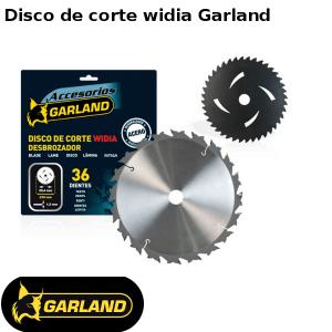 Disco de corte widia Garland para desbrozadoras