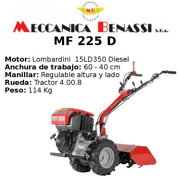 mf 225 d