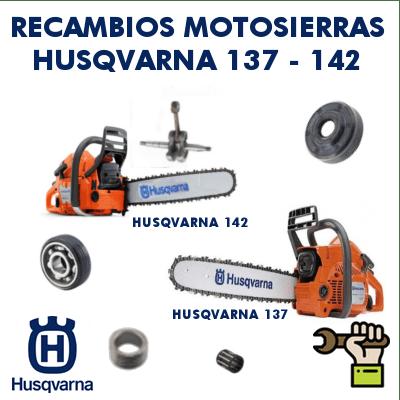 Recambios para motosierras Husqvarna 137-142