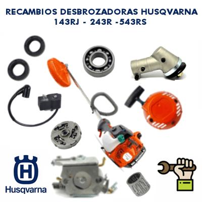 Recambios Para Desbrozadoras Husqvarna 143RJ - 243R - 543RS