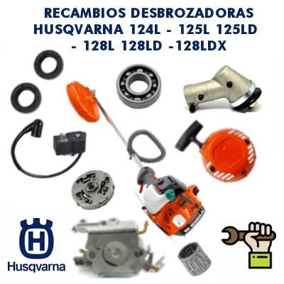 Recambios para desbrozadoras Husqvarna 124L - 125L 125LD - 128L 128LD -128LDX
