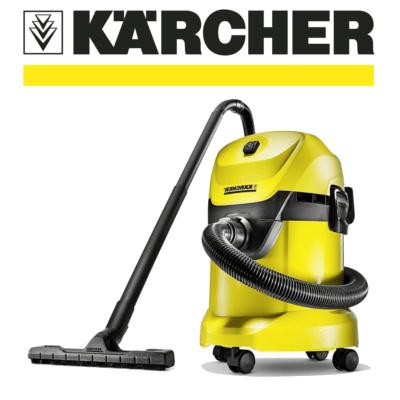 Aspiradores Karcher en seco y húmedo