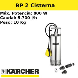 Bomba pozo Karcher BP 2 Cisterna