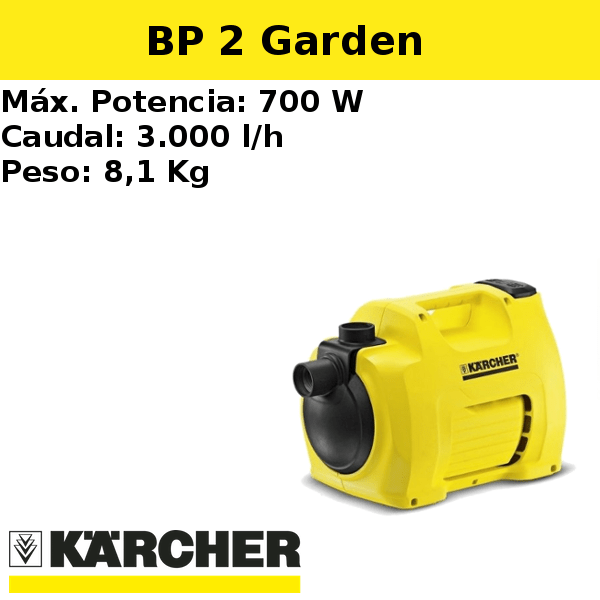 Bomba pozo Karcher BP 2 Garden