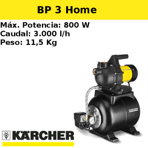 Bomba pozo Karcher BP 3 Home