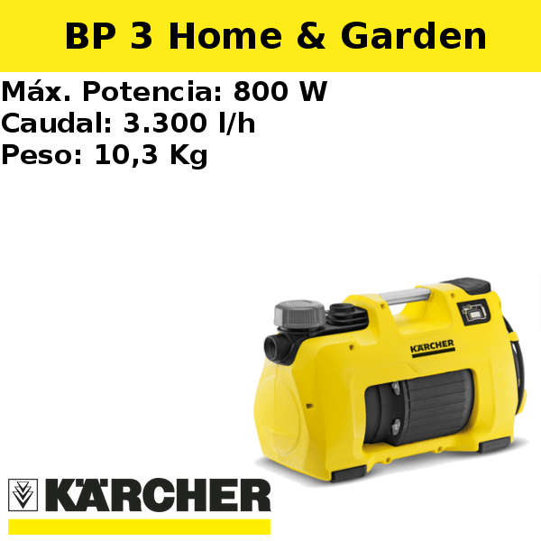 Bomba pozo Karcher BP 3 Home & Garden