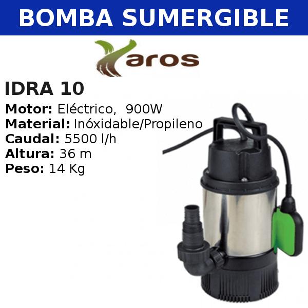 Bomba de agua sumergible Yaros IDRA 10