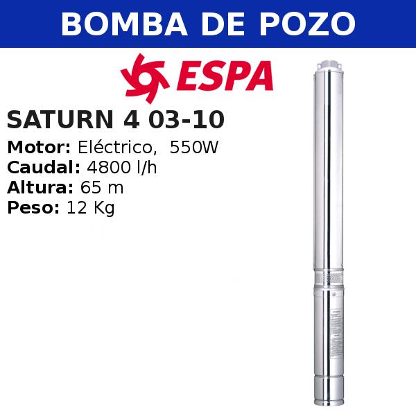 Bomba de pozo Espa Saturn 4 03-10