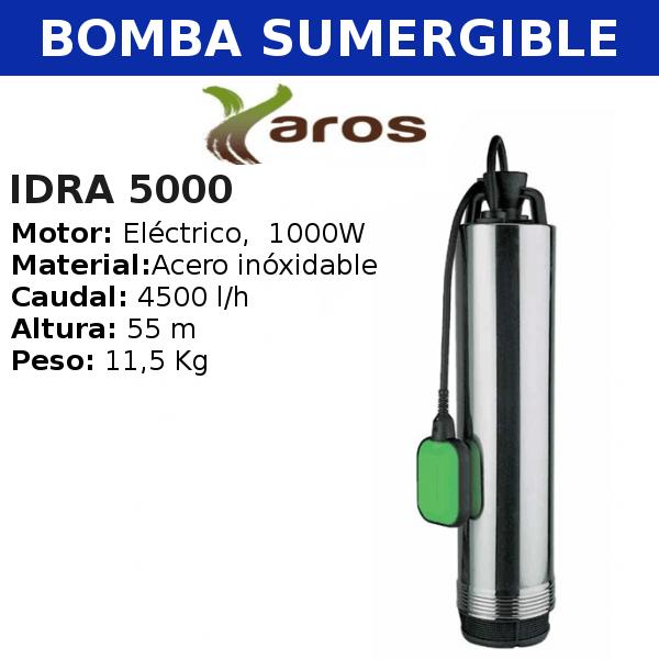 Bombas para Pozo Yaros, Idra 5000