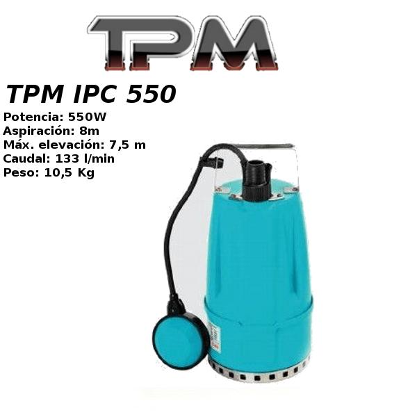 Bombas de agua TPM IPC 550