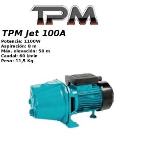 Grupo de presión TPM Jet 100A