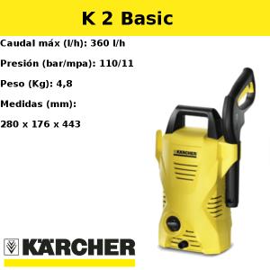 Hidrolimpiadora Karcher K 2 Basic
