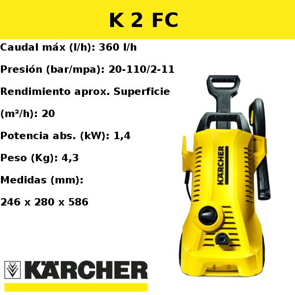 Hidrolimpiadora Karcher K 2 FC