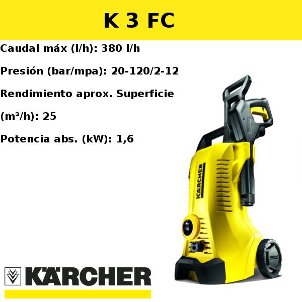 Hidrolimpiadora Karcher K 3 FC