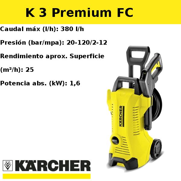 Hidrolimpiadora Karcher K 3 Premium FC