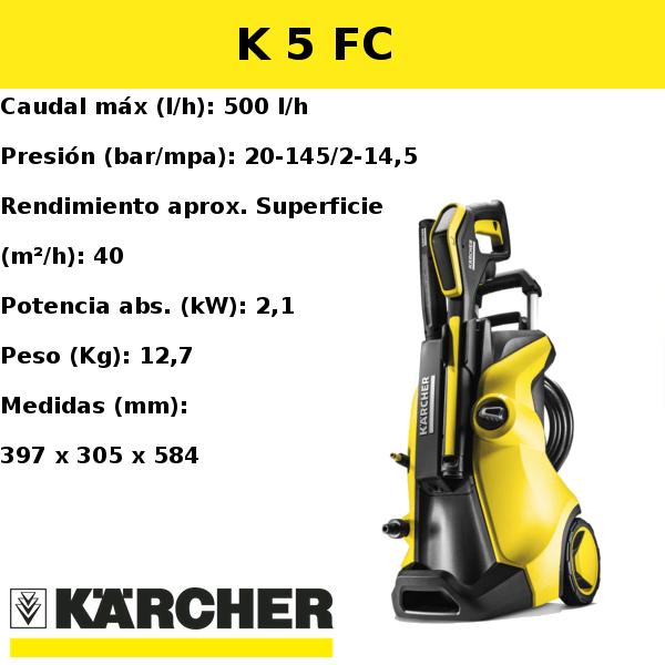 Hidrolimpiadora Karcher K 5 FC