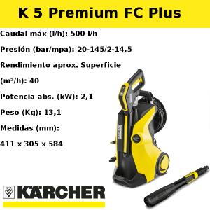 Hidrolimpiadora Karcher K 5 Premium FC Plus
