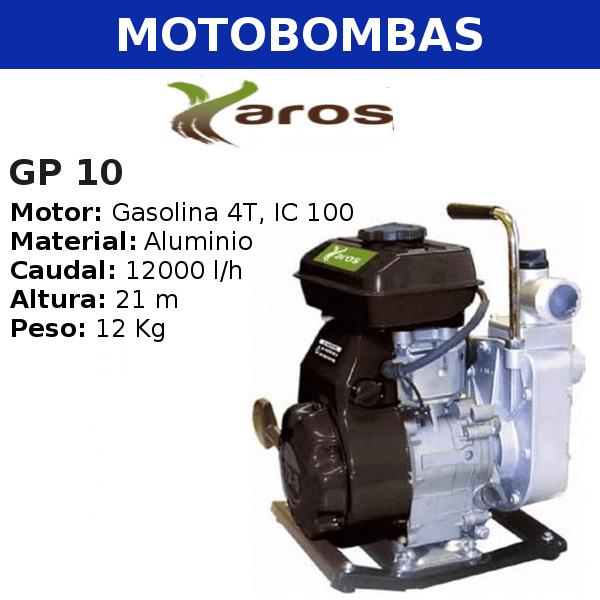Motobombas Yaros GP 10