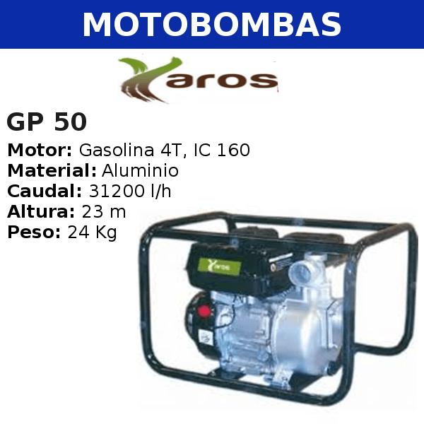 Motobombas Yaros GP 50