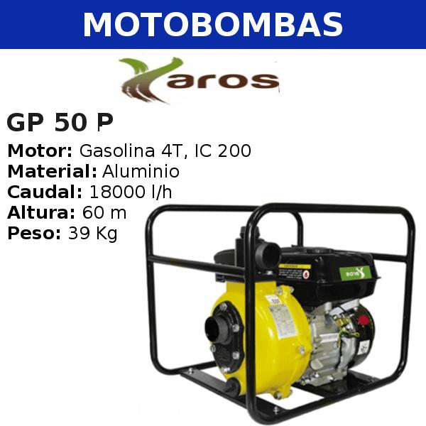 Motobombas Yaros GP 50 P