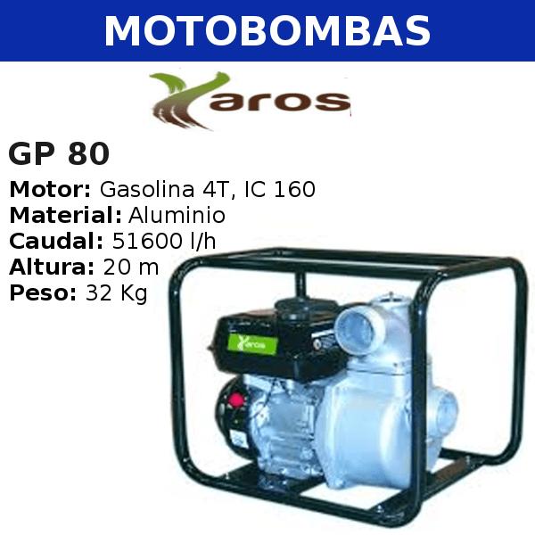 Motobombas Yaros GP 80