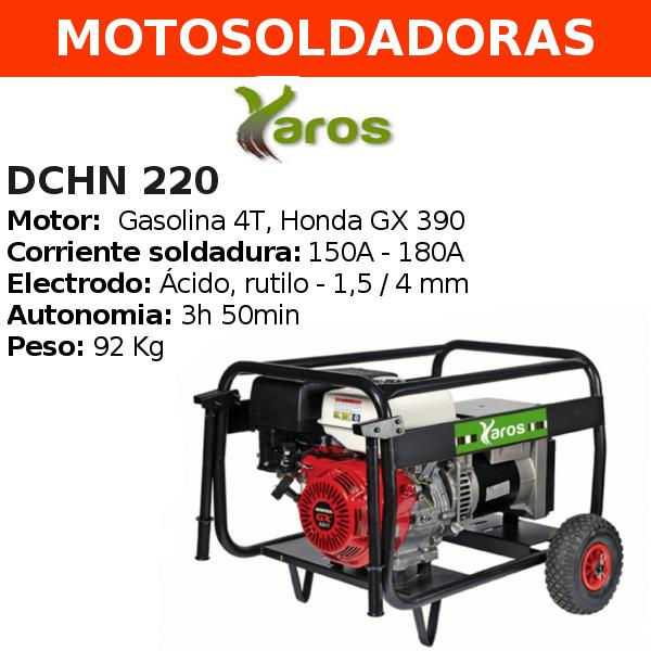 Motosoldadora Yaros DCHN 220