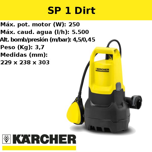 Bomba de agua Karcher SP 1 Dirt