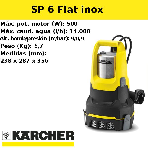 Bomba de agua Karcher SP 6 Flat inox