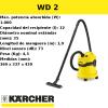 Aspirador Karcher WD 2