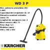 Aspirador Karcher WD 3 P