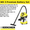 Aspirador Batería Karcher WD 3 Premium Battery Set