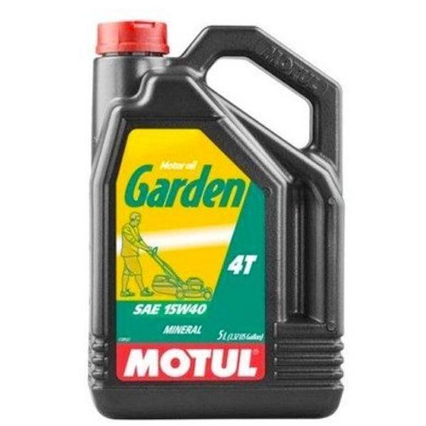 Aceite Motul Garden MT-101312 4T 15W40 5 litros