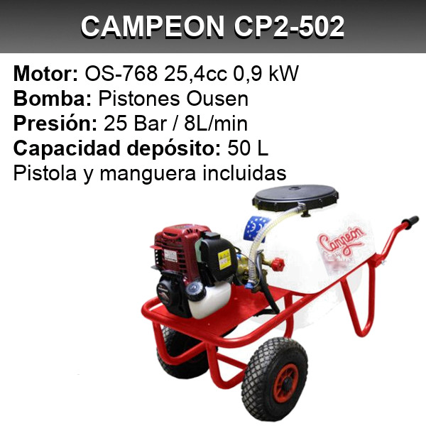 Campeon CP2-502 Intermaquinas