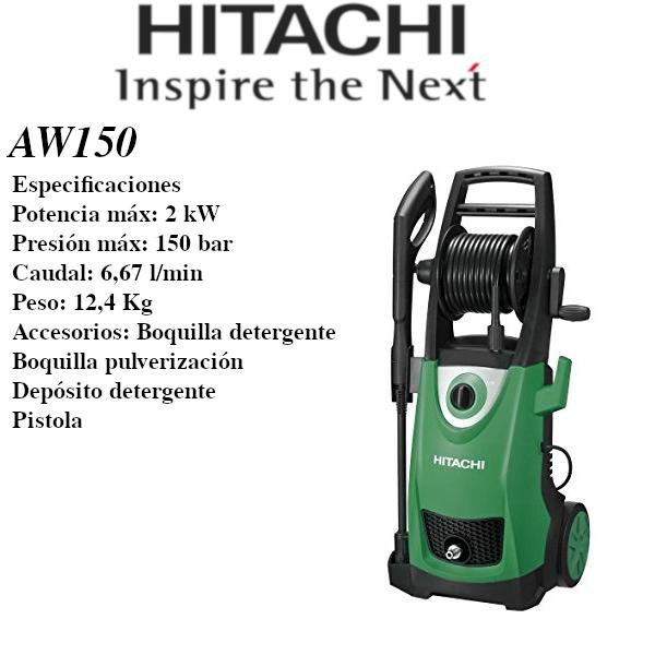 Hidrolimpiadora eléctrica Hitachi AW150